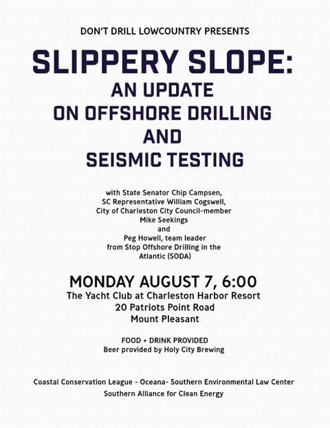 2017-08-07 Slippery Slope Offshore Drilling Event Flyer